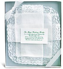 Magic Wedding Hanky Our Irish Linen Handkerchief Can Be Carried On Her Day