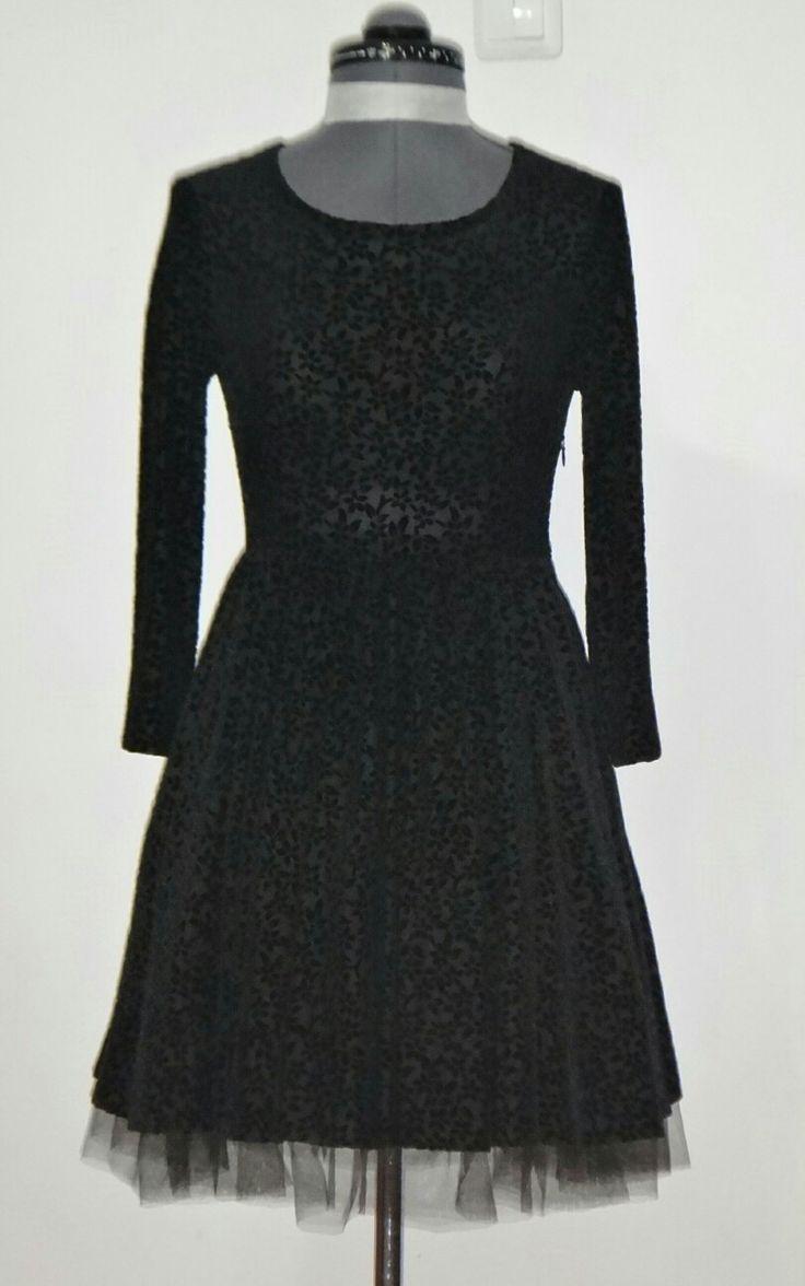 платье, пан-бархат, перед.