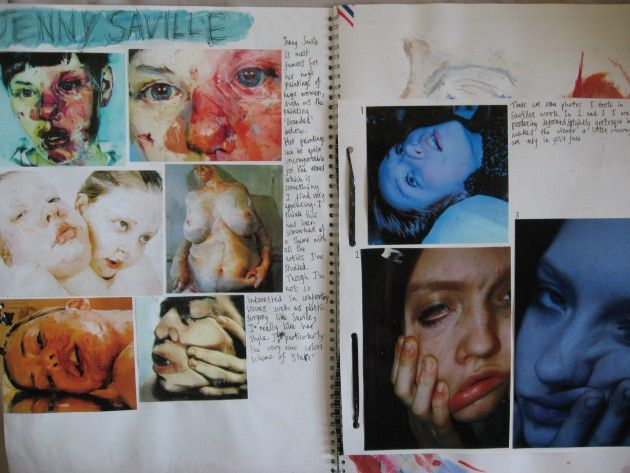An AS Art project - Facial expressions and the media