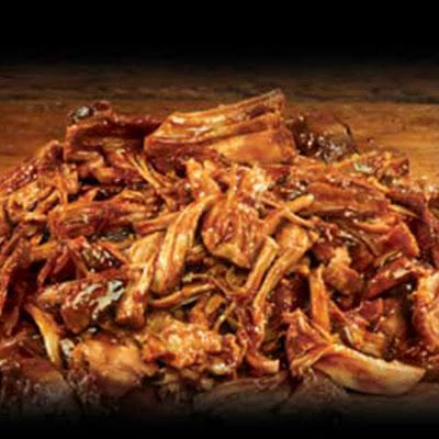 BBQ Pulled Pork Recipe in a Pressure Cooker @keyingredient #pork #sandwich #delicious