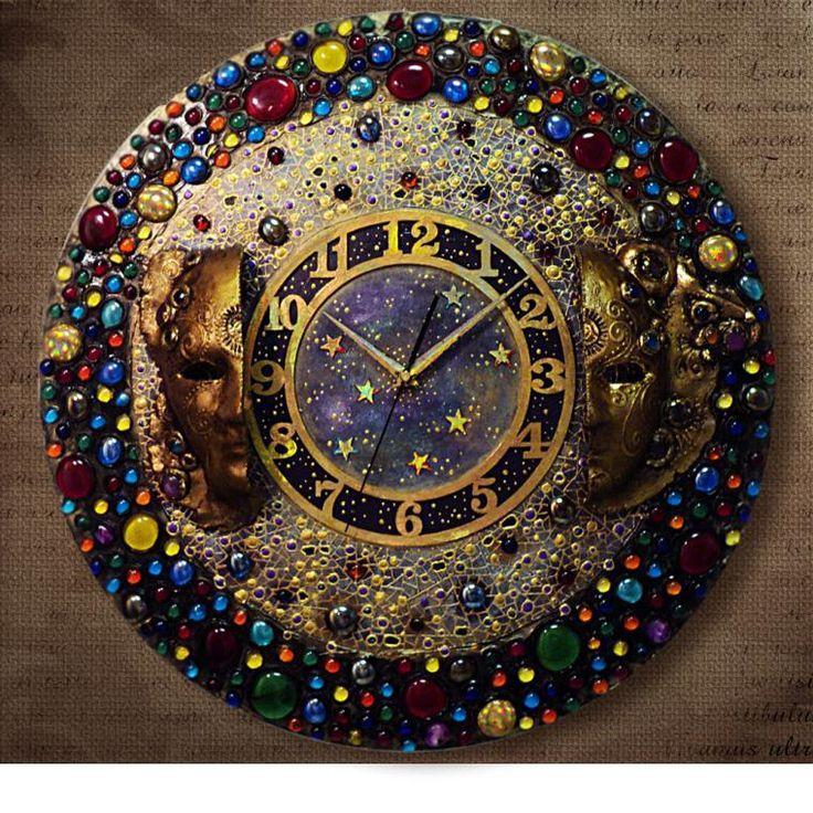 Большие часы в Венецианском стиле..... - Ярмарка Мастеров - ручная работа, handmade