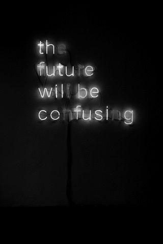 aujourd'hui, je pense comme ces néons, à moins que ce ne soient eux qui pensent comme moi. Qui croire ? Via FFFFounnnd