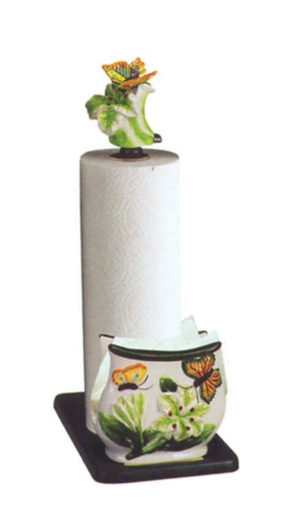 Butterfly Kitchen Decor Themes Butterfly 3 D Paper Towel Holder 4443 3d Butterfly Collection