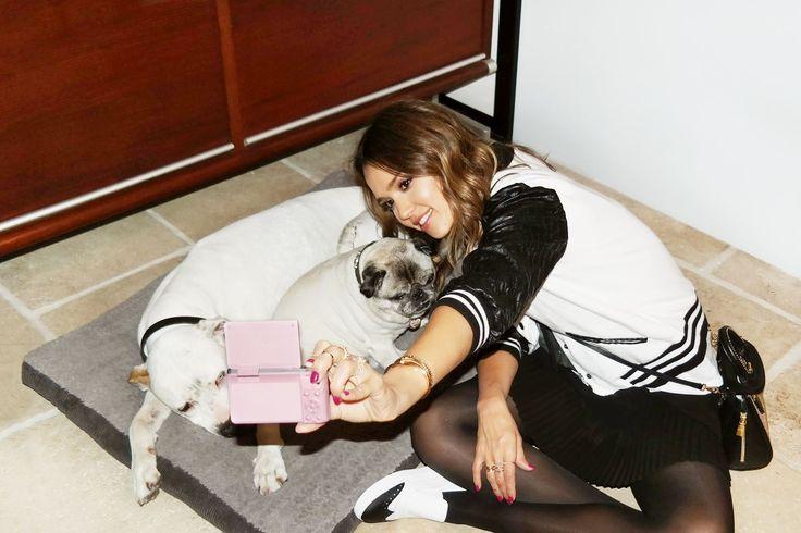 Puppy liefde met Jessica Alba.