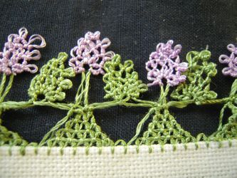 Tutorial from Julias Spitzenkiste: Complete manual / tutorial for Igne Oya (Turkish Needle Lace)