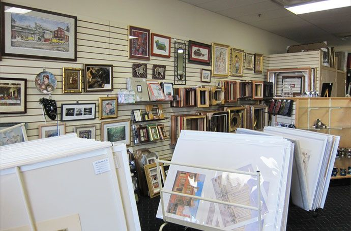 The Art & Frame Shop - Lehigh Valley custom framing shop at Cedar Point