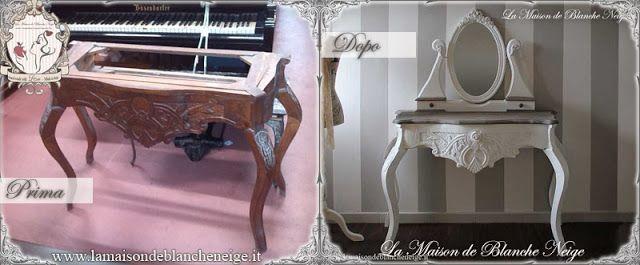 shabby chic dressing table  renovation