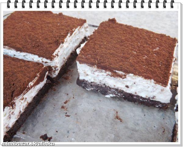 Skvelý tvarohovo šľahačkový koláč bez štipky múky