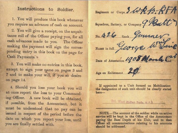 Soldier s letter to his wife written while on active service in