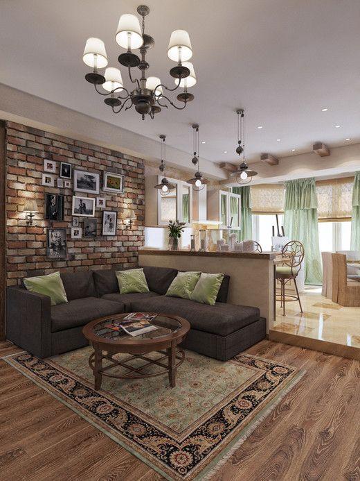 Трехкомнатная квартира, г. Москва. Квартира-студия