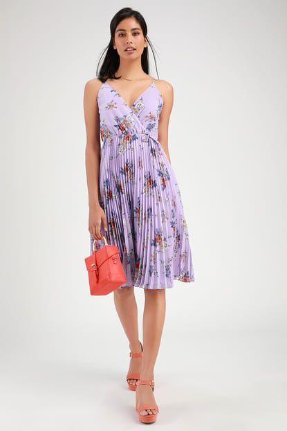 31a215107791 Lulus   Be Mine Lavender Floral Print Sleeveless Midi Dress   Size ...