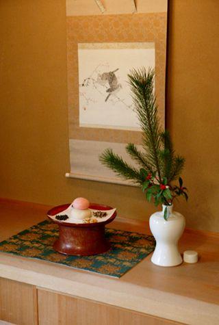 【室礼歳時記】季節の室礼/お正月