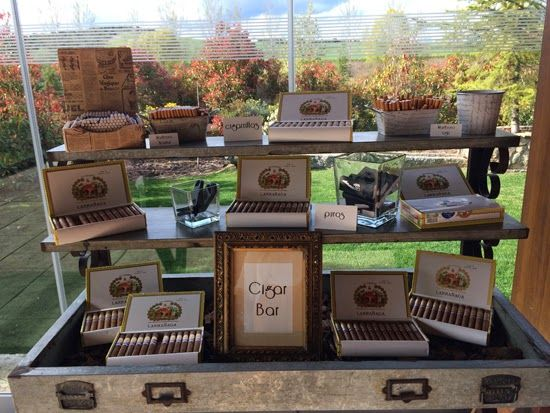 Cigar Bar Wedding www.ohmywedding.es