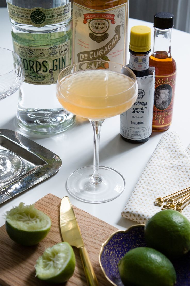 The 9-Bottle Bar Recipe: The Pegu Club — Drink Recipes from The Kitchn