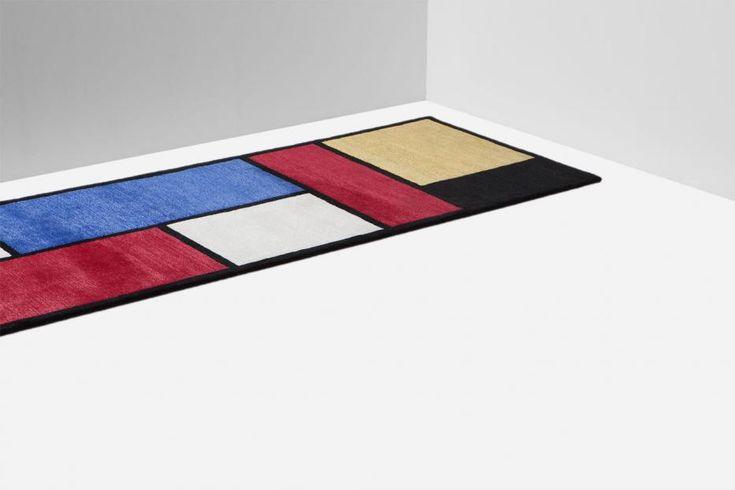 Mondrian Runner - Samuele Mazza | Nodus Rug