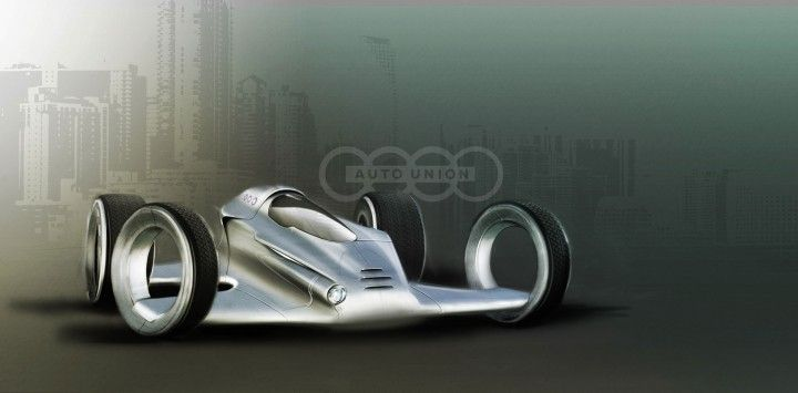 Audi Auto Union Race Car Concept By Peter Ten Klooster Http Www