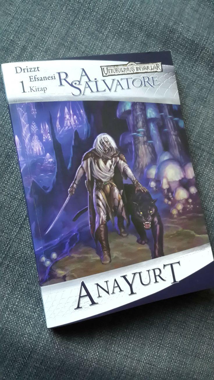 Anayurt - R.A. Salvatore (Kara Elf Üçlemesi)