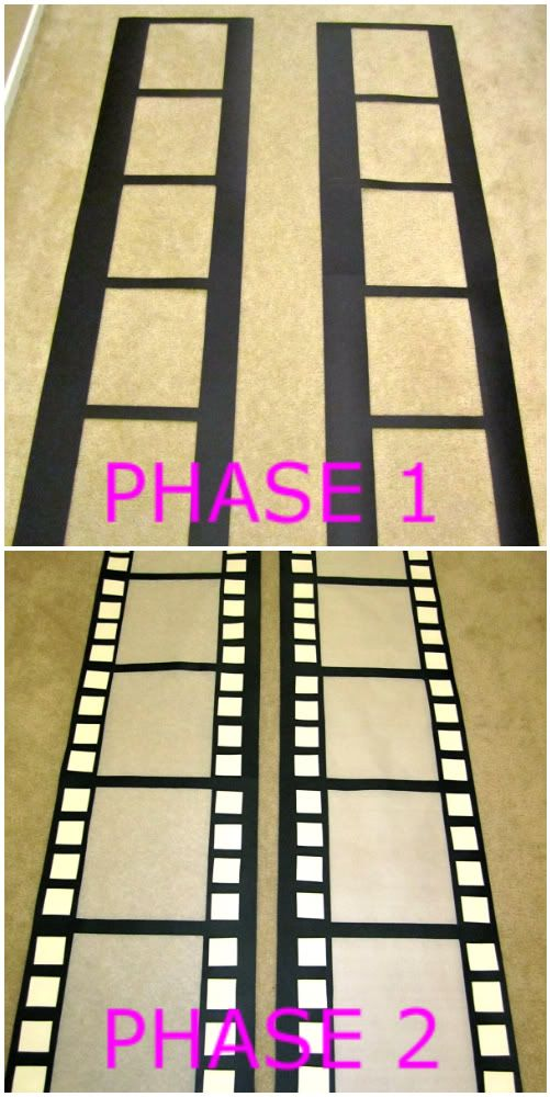 { DIY } Photo Booth Backdrop | KateSpanish; for Homecoming Hall Decor - Hollywood Studios