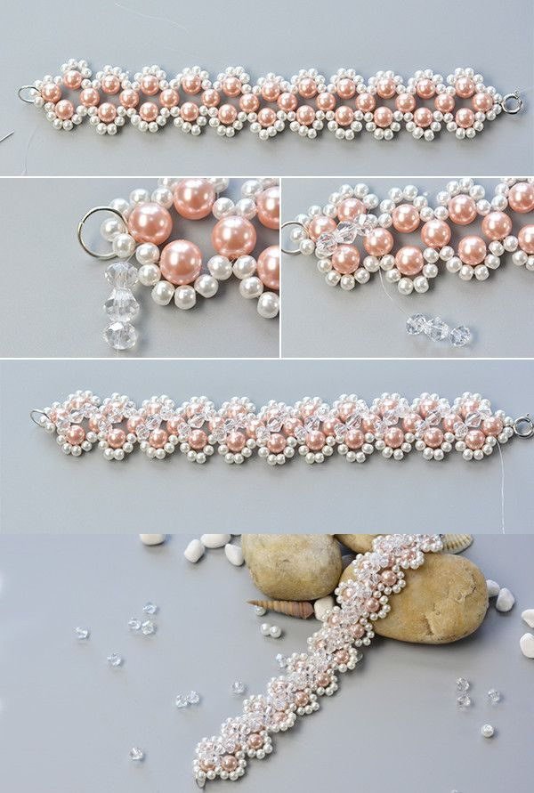 LC.Pandahall.com will publish this beaded bracelet tutorial soon.