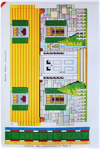 Cardboard dollhouse for sale woodworking projects plans for Paper house planner