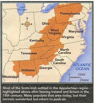 Scots-Irish in America. @Beth Isaacs and @Megan Curd this is what we were talking about earlier :)