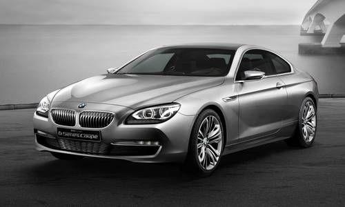 #BMW #Serie 6 coupé.  Les lignes fluides caractérisent le design extérieur. Les matériaux choisis confèrent à l'habitacle une ambiance exclusive.