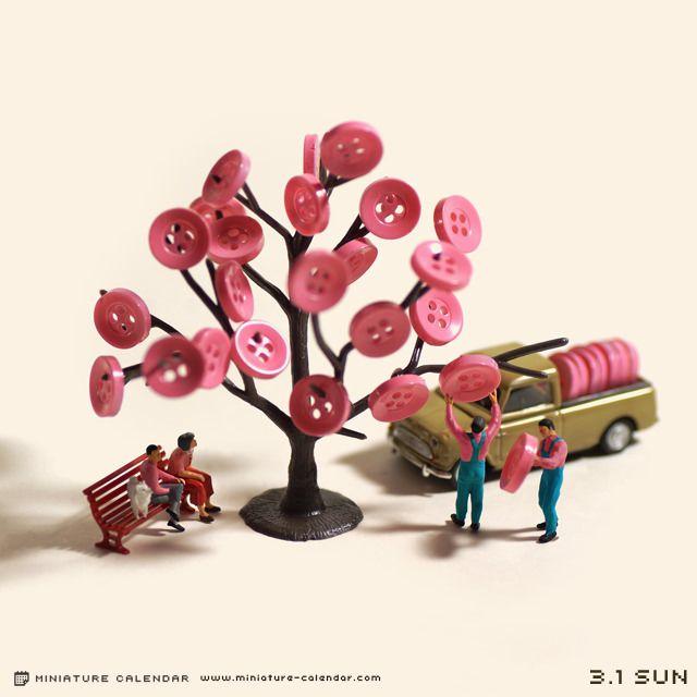 Cherry blossoms by Tanaka Tatsuya