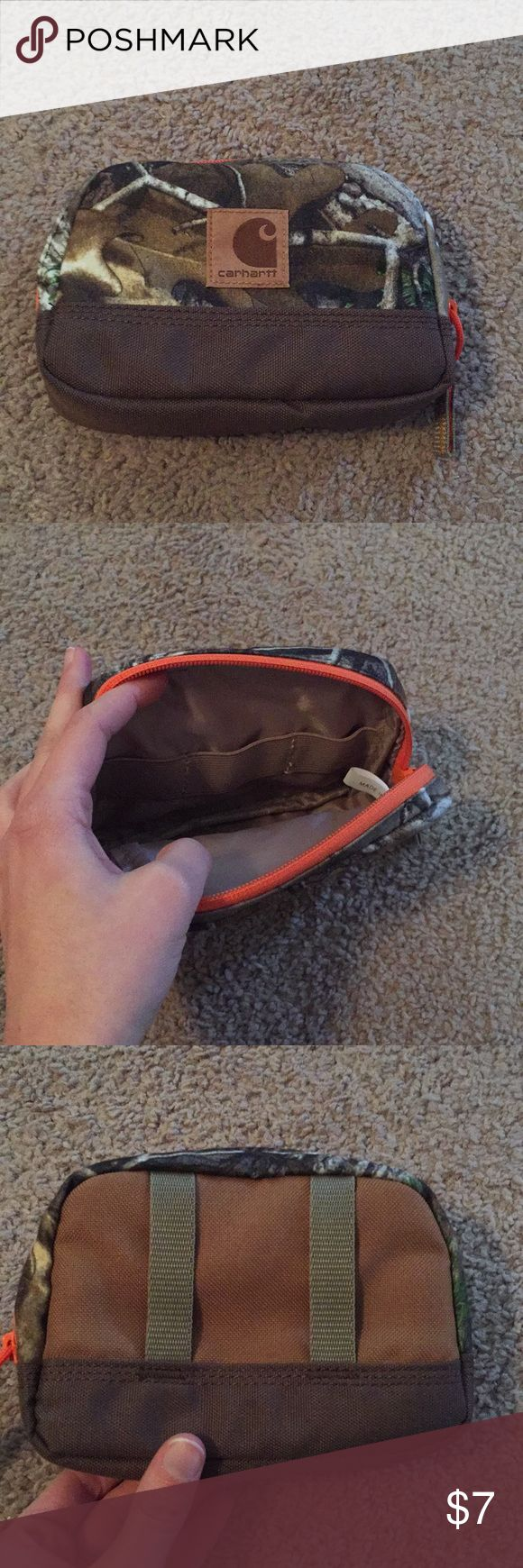Carhartt Camouflage Pouch NWOT Hunt necessities pouch, about the size of a camera or phone Carhartt Bags