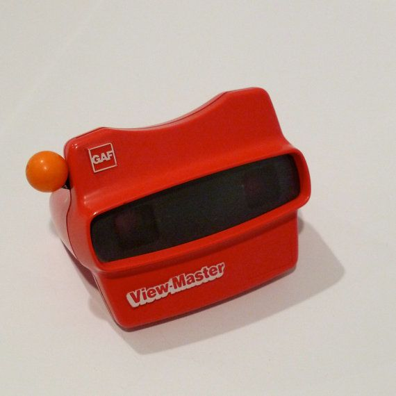 Red Viewmaster Stereo Film Card View Master by plattermatter2