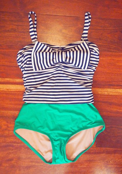 Rey Swimwear!  Each swim suit is inspired by an audrey Hepburn movie character.  Love it!!!!