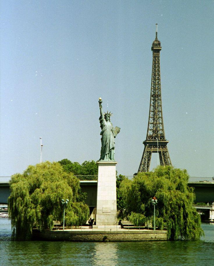 La Statue de la Liberté est aussi à Paris