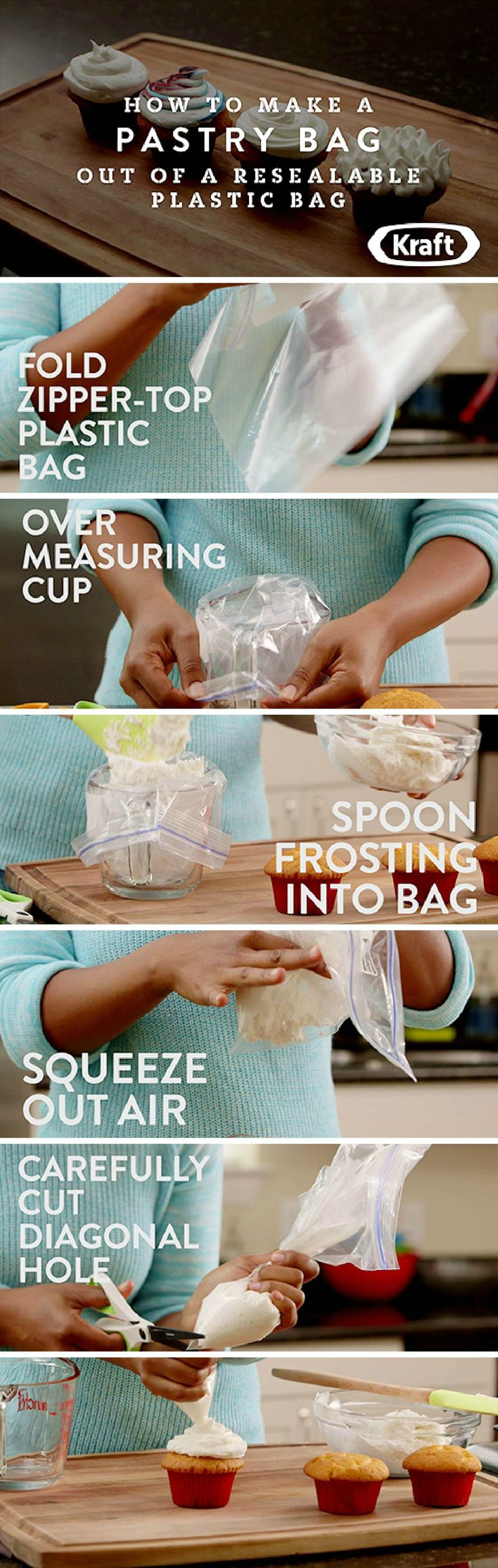 How To Make A Pastry Bag Out Of A Resealable Plastic Bag – Have you been wanting to create fun frosting designs, but don't have the fancy tools? Don't worry this tutorial for How To Make A Pastry Bag Out Of A Resealable Plastic Bag can help fix your problem!