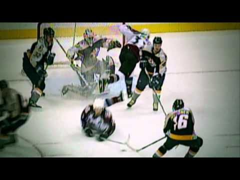 Peter Forsberg's Retirement Video. When they showed this, I cried like a baby.