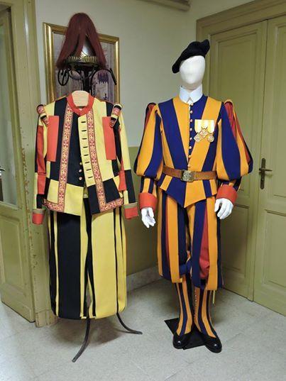 alta uniforme guardie del papa -