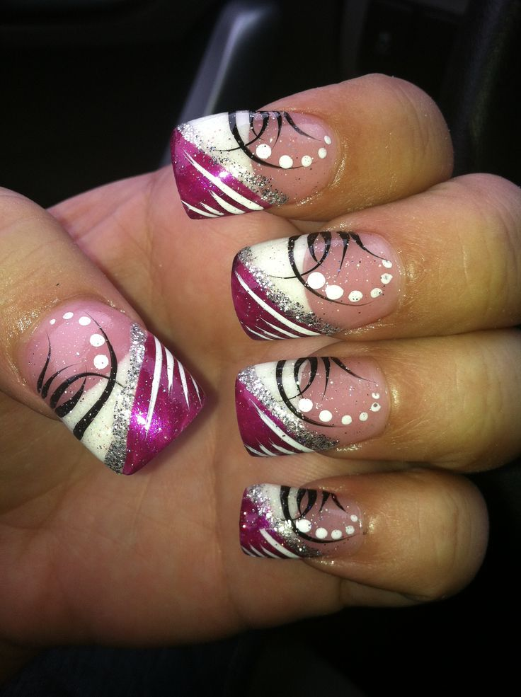 line nail design ideas