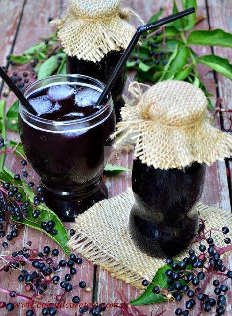 Sirop din fructe de soc | CAIETUL CU RETETE