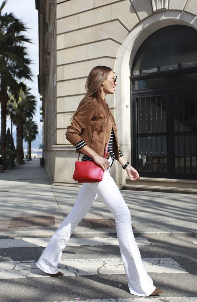 Pantalones de talle alto campana. Time for Fashion » Style Consultancy