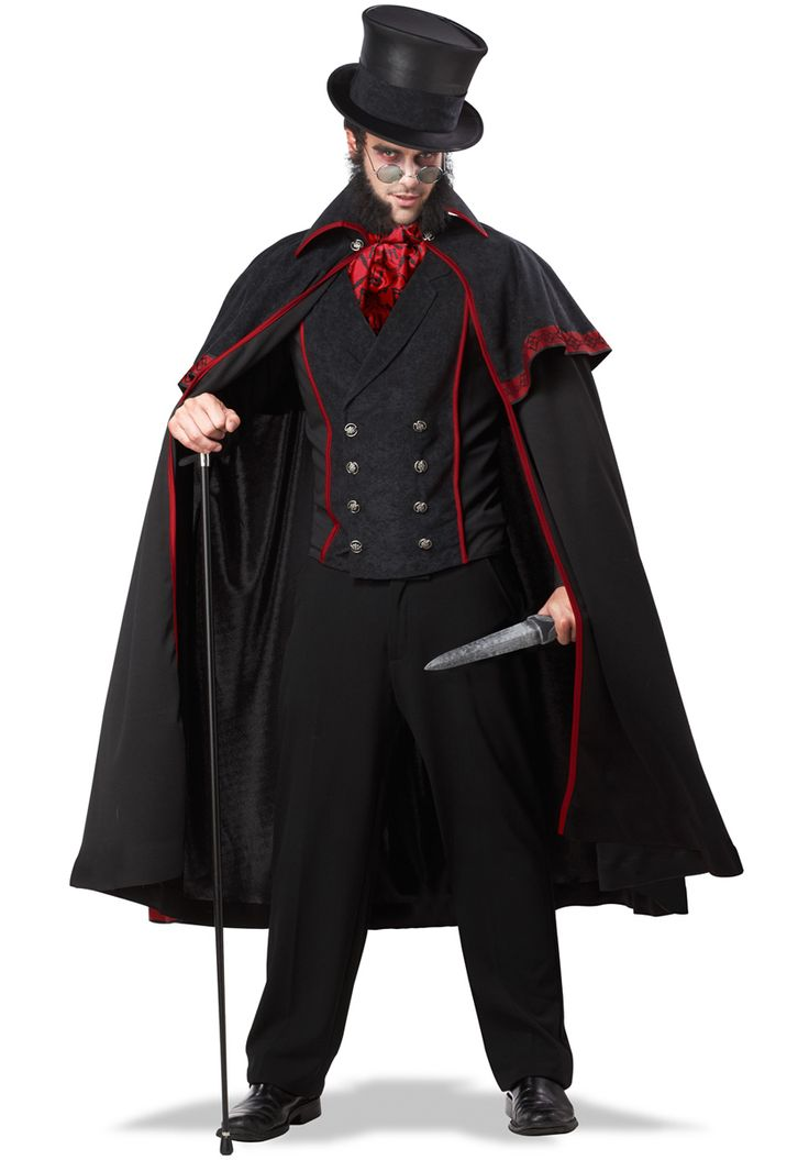 Victorian Killer Jack the Ripper Costume - Halloween Costumes at Escapade™ UK...... This is badass!!