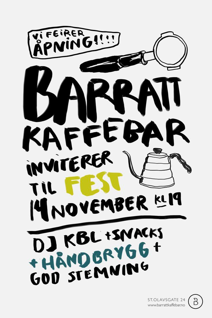 Barratt Kaffebar, Oslo http://www.barrattkaffebar.no