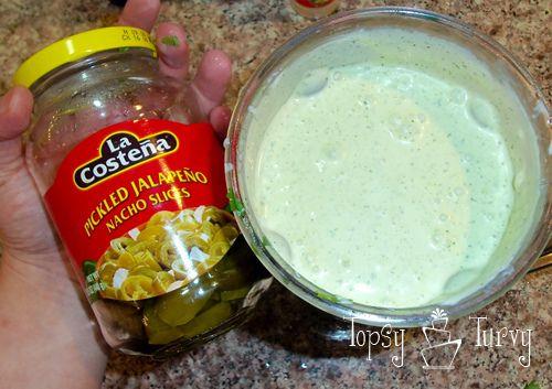 creamy jalapeno dip