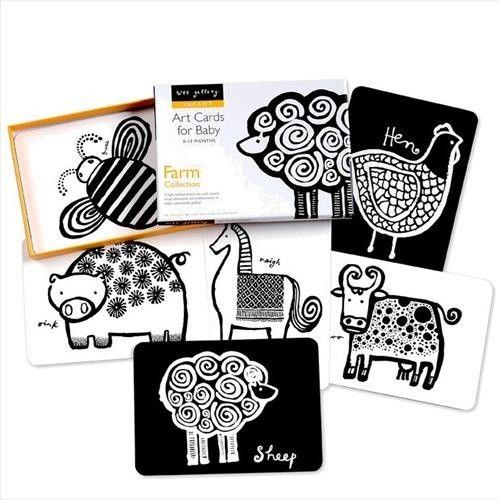 Wee Gallery - kijkkaarten Farm | Babyspeelgoed | Ziezoo! Kinderlifestyle en Design