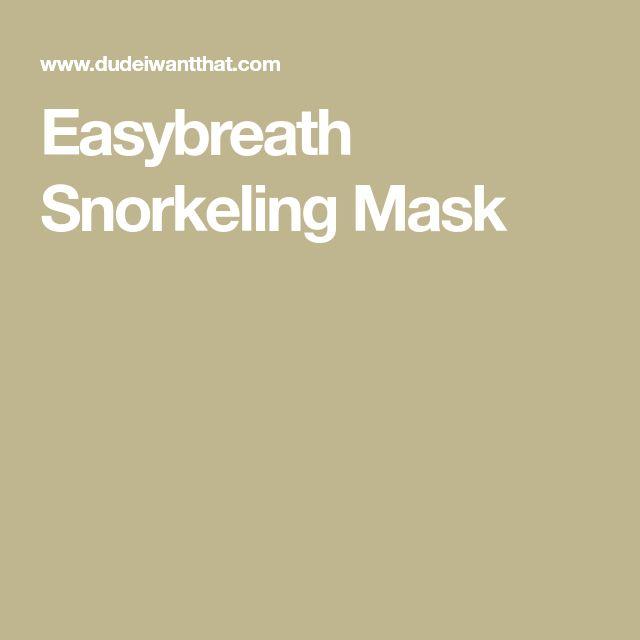 Easybreath Snorkeling Mask