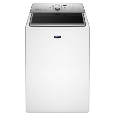 Maytag 6.1-cu ft High-Efficiency Top-Load Washer (White) ENERGY STAR