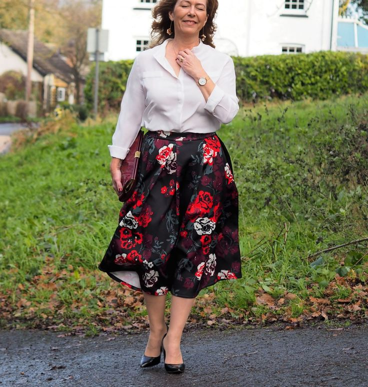 Kicking Off The New Year With Havren In A Fit And Flare Skirt - Vanity & Me