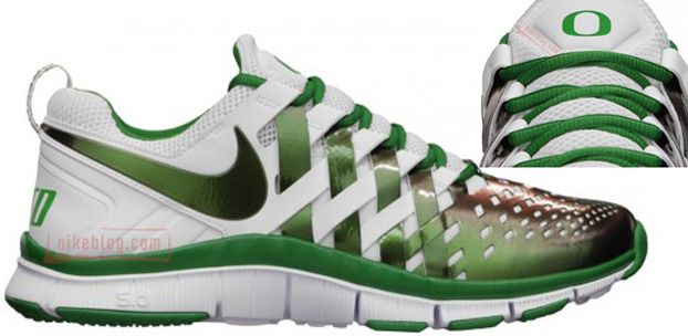 Nike Free Trainer 5.0 OREGON Releases 8/31