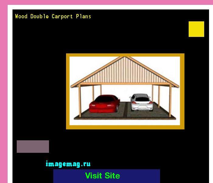 Wood Double Carport Plans 180411 - The Best Image Search