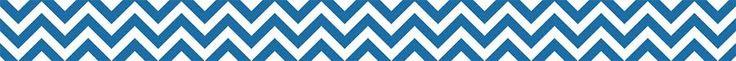 Blue Chevron Bulletin Board Border | TRI-39396 | CTP0163