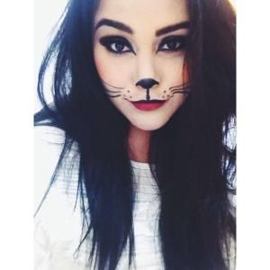 cat makeup... Cat halloween costume? by lisa.w