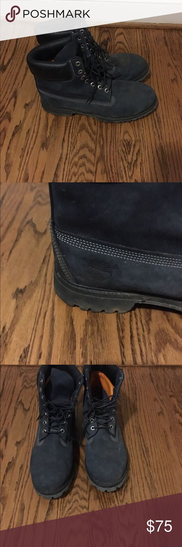 Men's timberland Boots Size 11 Barely worn Greyish/Blue Timberland Boots for Men Size 11 Timberland Shoes Boots