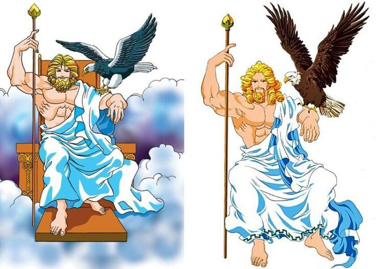 Zeus (Jupiter) - Hong Eun Young's Greek & Roman Mythology (Korean Comics) 만화로 보는 그리스 로마 신화 - 제우스